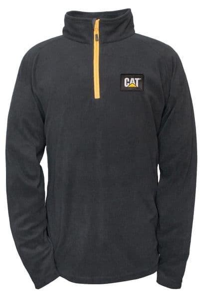 Caterpillar Concord Fleece Pullover Sweat Shirts Black